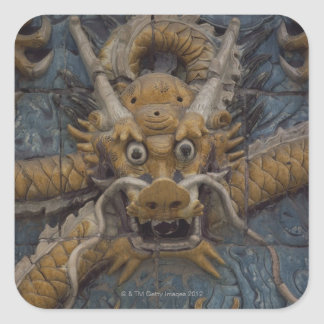 China, Beijing, The Forbidden City, Nine Dragon Square Sticker