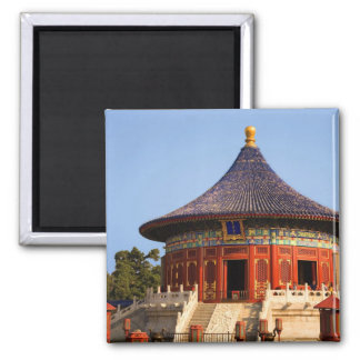 China, Beijing, Tian Tan Park, Temple of Heaven, 2 2 Inch Square Magnet