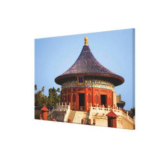 China, Beijing, Tian Tan Park, Temple of Heaven, 2 Canvas Print