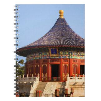 China, Beijing, Tian Tan Park, Temple of Heaven, 2 Notebook