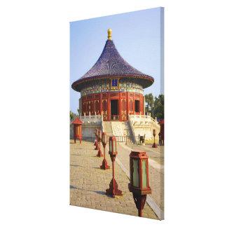 China, Beijing, Tian Tan Park, Temple of Heaven, Canvas Print
