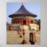 China, Beijing, Tian Tan Park, Temple of Heaven, Print