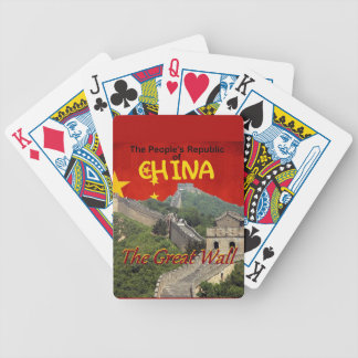 CHINA BICYCLE PLAYING CARDS