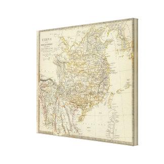 China, Birman Empire, Coch in China, Siam Stretched Canvas Prints
