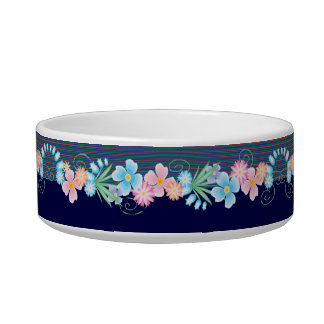 China Blue Fruit & Jam Bowl Cat Water Bowl