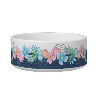 China Blue Fruit & Jam Bowl Cat Bowl