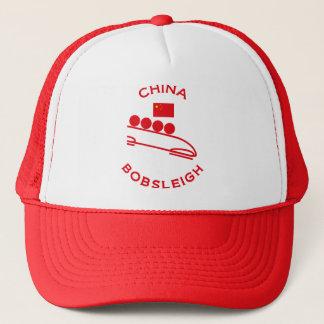 China Bobsleigh Trucker Hat
