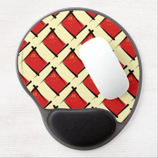 China Brush Flag Gel Mouse Pad