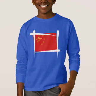 China Brush Flag T-Shirt