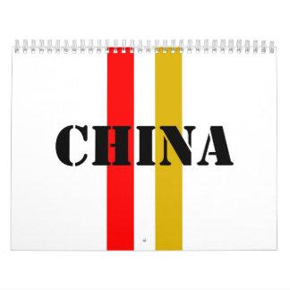 China Calendario