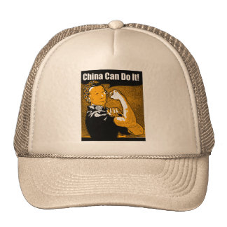 China can do it trucker hat