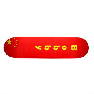 China, China, China, China, B, o, b, b, y Custom Skateboard