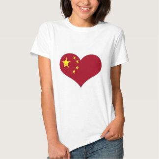 China Chinese Asia flag Shirt