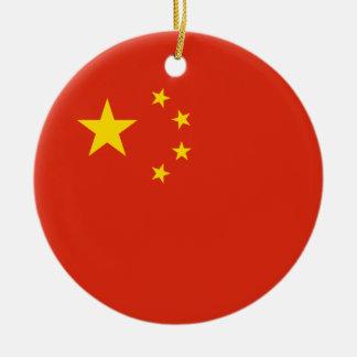 China – Chinese Flag Christmas Tree Ornament