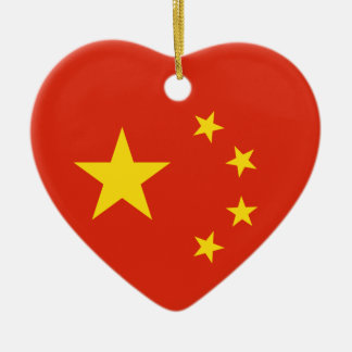 China Chinese Flag People's Republic of China Flag Ceramic Ornament