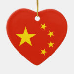 China Chinese Flag People's Republic of China Flag Christmas Ornaments