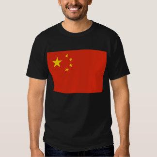 China; Chinese Flag Shirt