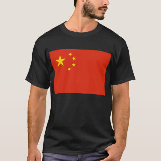 China; Chinese Flag T-Shirt