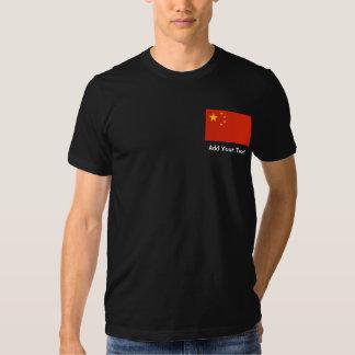 China – Chinese Flag Tees