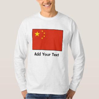 China – Chinese Flag Tshirts