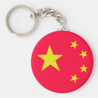 china chinese stars flag keychain