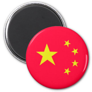 china chinese stars flag magnet