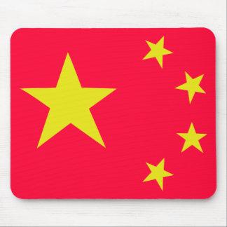 china chinese stars flag mouse pad