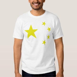 china chinese stars flag t shirt