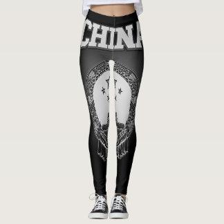 China Coat of Arms Leggings