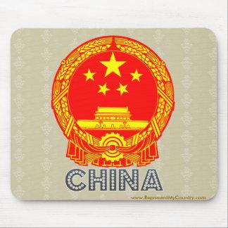 China Coat of Arms Mousepad