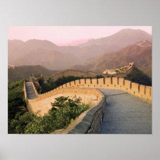 China condado de Huairou puesta del sol sobre Impresiones