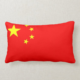 china country flag pillow