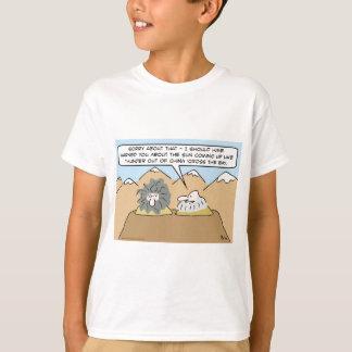 china cross the bay sun dawn thunder kipling T-Shirt