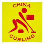 China Curling Posters