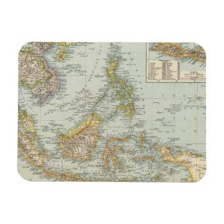 China de Indo y archipiélago del malasio Iman