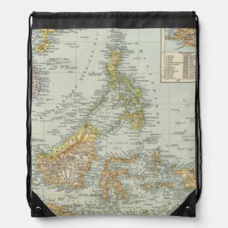 China de Indo y archipiélago del malasio Mochilas