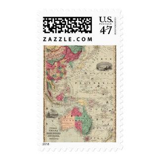 China del este. Indies Australia y Oceanica Timbres Postales