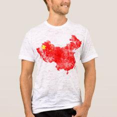 China Distressed Shirt at Zazzle