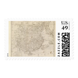 China, divided into it's Great Provinces Postage
