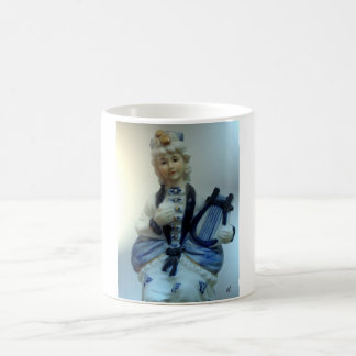 China doll by rafi talby classic white coffee mug