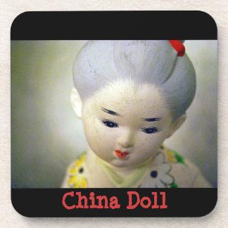 China Doll Cork Coaster