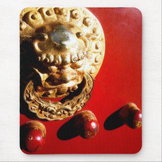 china door mouse pad