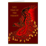 China dragon - 2012 - Year OF The Dragon Greeting Cards