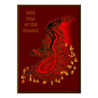 China dragon - 2012 - Year OF The Dragon Poster
