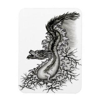 China-Dragón Imanes Flexibles