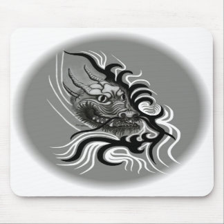 China dragon in Tatto styles Mouse Pad