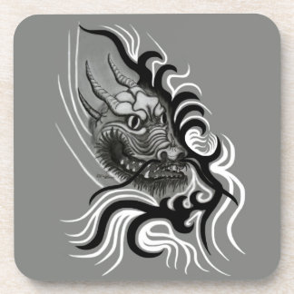 China-Dragon in Tattoo Style Coaster
