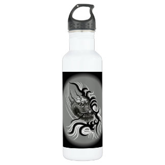 China Dragon in Tattoo Style Stainless Steel Water Bottle