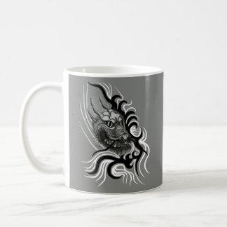 China dragon in Tattoo styles Coffee Mug