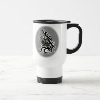China dragon in Tattoo styles Travel Mug